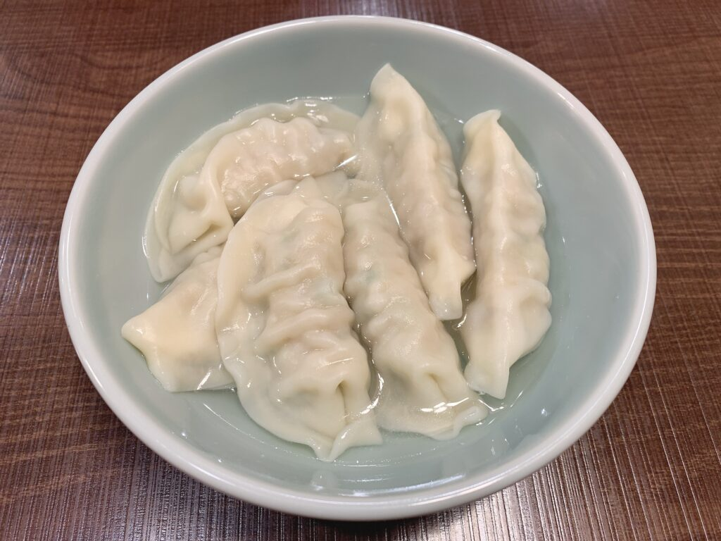 宇都宮みんみん 鹿沼店の水餃子