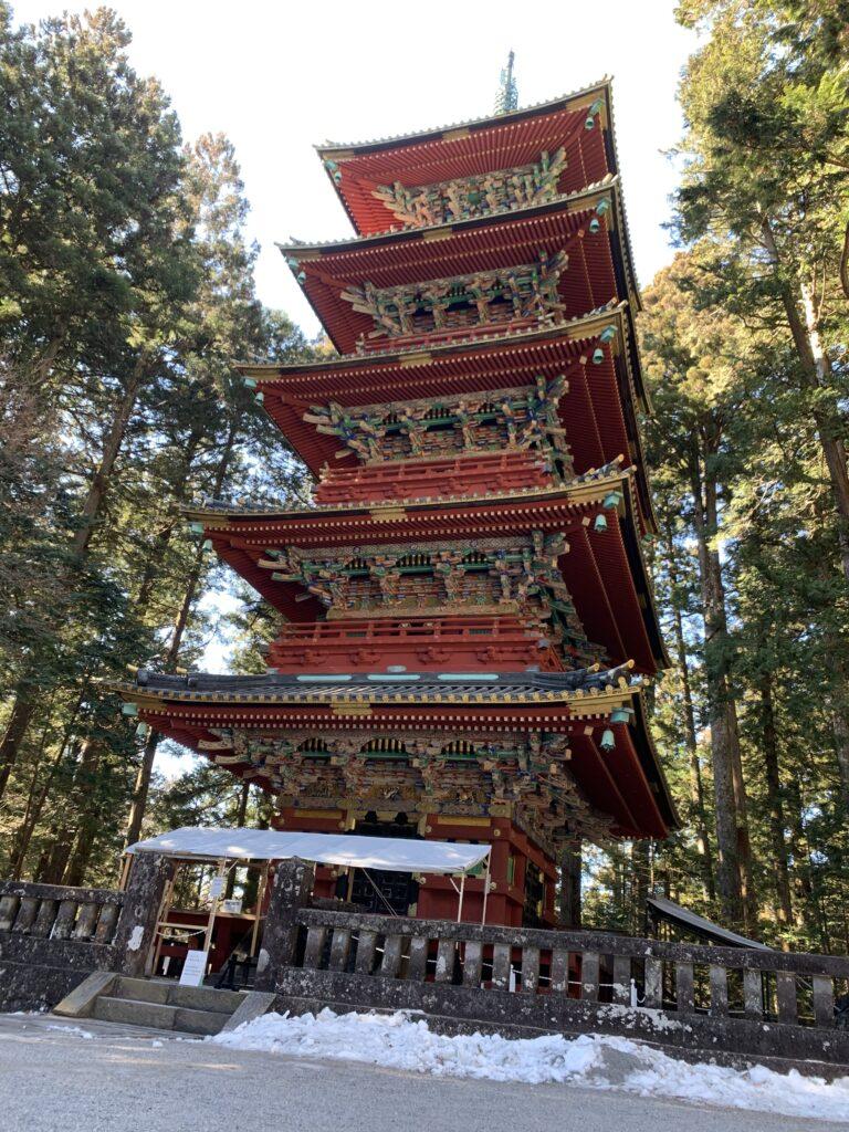 日光東照宮の「五重塔」
