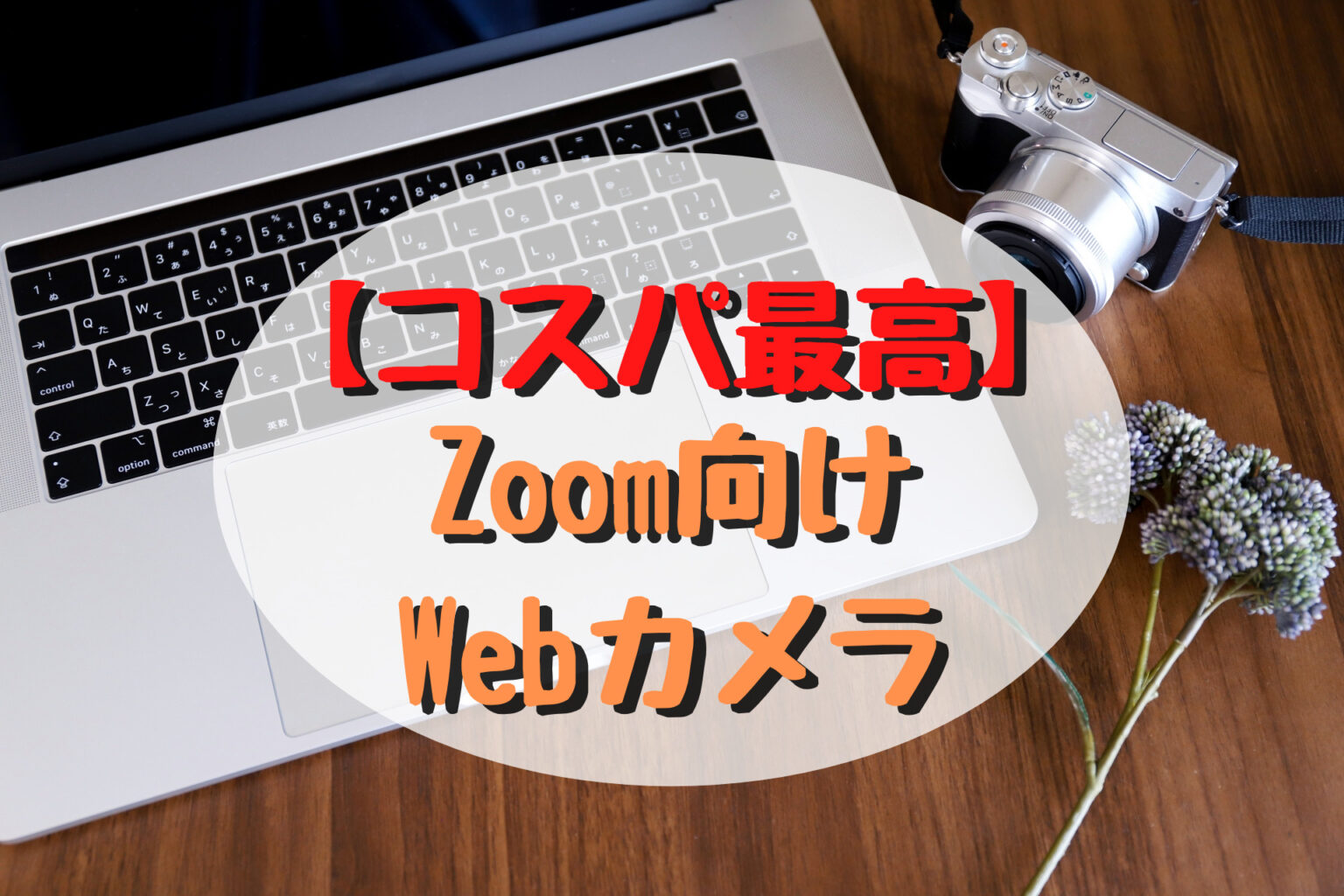 """【コスパ最高】Zoom向けのおすすめ""""Webカメラ""""はこれだ!"""